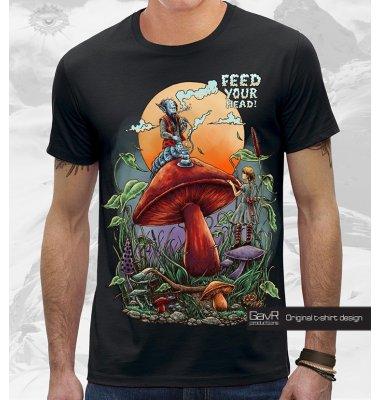 Alice In Wonderland футболка мужская