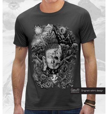 LIFE&DEATH футболка мужская