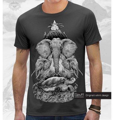 World Turtle футболка мужская