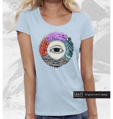 FOUR ELEMENT футболка женская